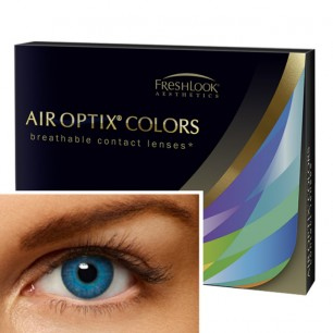 Air Optix Aqua Color brilliant blau